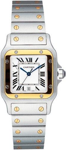 Cartier Santos Reloj para hombre w20011C4–Reloj (Reloj de pulsera)