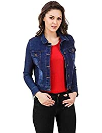 Funday Fashion Full Sleeve Solid Women's Denim Jacket