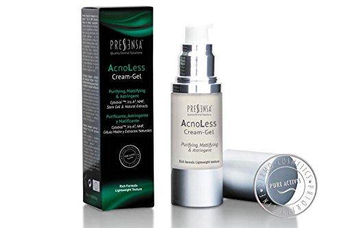 Anti-akne-gel (AcnoLess Cream-Reinigungsgel, Anti-Akne-Gel, adstringierend, mattierend, entwickelt, um Akne, Hautflecken, Unregelmäßigkeiten der Haut und unregelmäßige Hauttextur zu bekämpfen 30 ml)