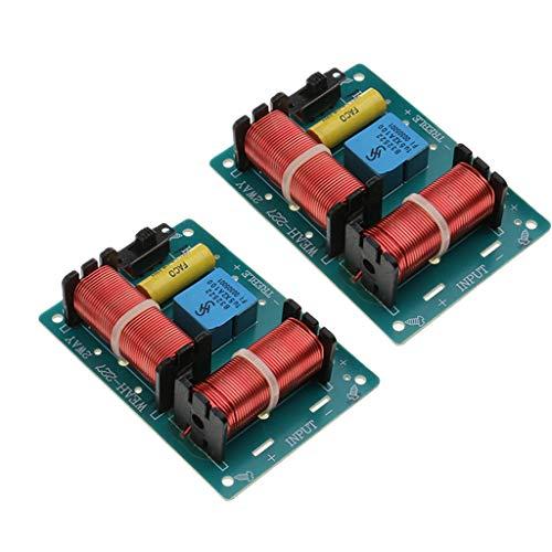 D DOLITY 2 stück Lautsprecher Audio Frequenzteiler frequenzweiche 2-Wege-Modul,Audio Board