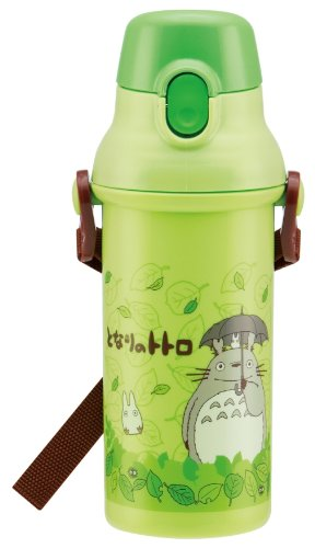 Skater Plastic Drink Bottle One-Touch Direct 480ml My Neighbor Totoro Stroll (Studio Ghibli) Japan Import by