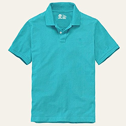 Timberland Mens Millers River Pique Polo Shirt (Mau Blue) blue
