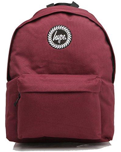 Hype sac à dos - Uni- Bourgogne - pour Loisir et Ecole avec du style unique
