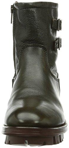 De Moyenne Grigio Grey Grau Hauteur Bottes Femme Doublure 016 Froide fCxvCqU