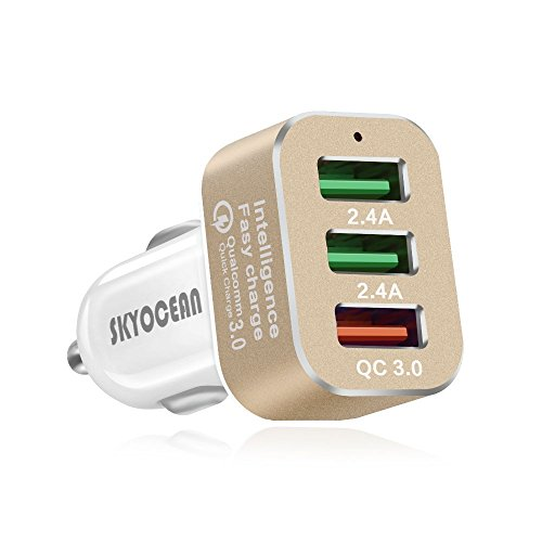 Skyocean 42W - 3 Puertos USB + Quick Charge 3.0