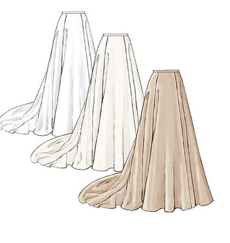 Pack of 1 White Butterick Patterns B3762 Size 2-3-4-5 Childrens//Girls Dress