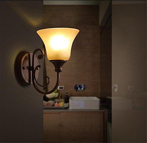 BZJBOY Lampade da parete LED Vintage industriale