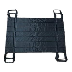 Hochleistungs-Patientenlagerungsblatt zum Heben, Drehen und Transportieren, wiederverwendbar, waschbar, unterstützt 220 lbs (42,5″x 26,3″)