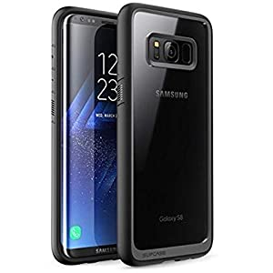 SUPCASE Unicorn Beetle Style Premium Hybrid Protective Case Cover for Samsung Galaxy S8 (Black)