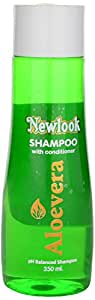 Newlook Shampoo with Conditioner, Aloe Vera, 350 ml