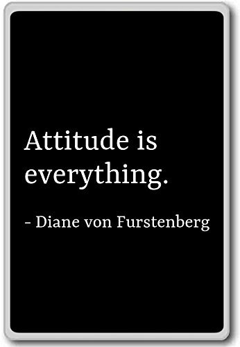 attitude-is-everything-diane-von-furstenberg-quotes-fridge-magnet-black