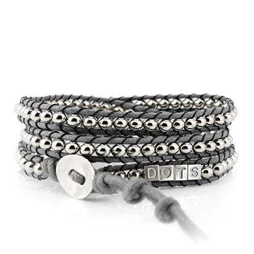 DOTS ORIGINALS Armband - Hochwertiges Wickelarmband aus liebevoller Handarbeit - Damenarmband mit unvergleichlichem und zeitlosem Design - Armschmuck für Damen