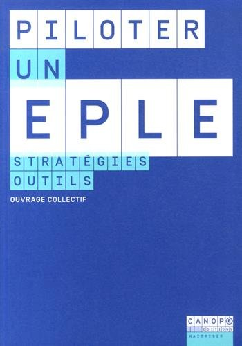 Piloter un Eple - Strategies, Outils