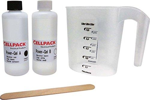 Cellpack CEL335120 PowerGel Pro zum Abdichten von elektrischen Anlagen, 400ml Cell Pack