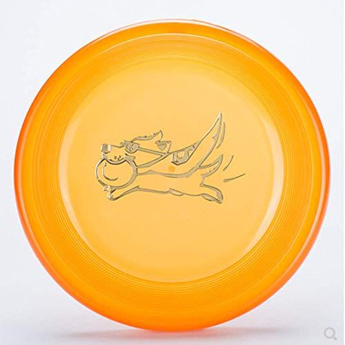 QWER2P Frisbee para Perros Juguetes interactivos para Perros Flying Disc Fetch Toy...