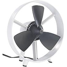 Ventilatore Silenzioso - Design - Pale in Gomma Morbida - Senza Griglia