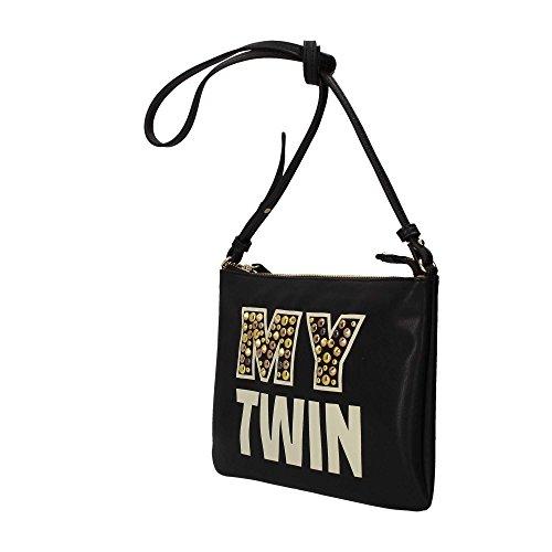 Mytwin by Twin Set VA7PBN Borsa a tracolla Donna Nero