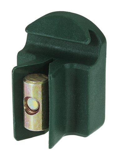 GAH-Alberts 655655 Support de tendeur de fil en plastique avec vis, emballé dans un sachet en polyéthylène Vert
