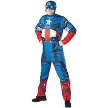 Rubbies - Disfraz de capitán para hombre, talla XL (880940XL1)