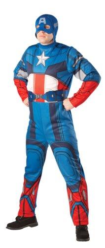 Captain-America-Kostüm für Erwachsene (Superhelden Kostüme Für Kinder Uk)