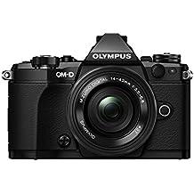 "Olympus OM-D E-M5 Mark II - Cámara EVIL de 16.1 MP (pantalla táctil de 3"", zoom motorizado Pancake, estabilizador en 5 modos, WiFi), negro - kit con objetivo M. Zuiko 14-42mm EZ"