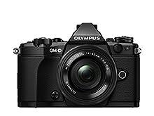 Olympus OM-D E-M5 Mark II Kit, Appareil Photo Micro 4/3 (16,1 MP, Stabilisation d'Image 5 Axes, Viseur Électronique) + Objectif M.Zuiko Digital ED 14-42mm F3.5-5.6 EZ Zoom, Noir