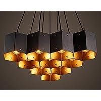 FWEF Stile Ferro Vento Industriale Illuminazione Arte