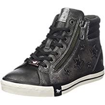 Mustang High Top Sneaker, Baskets Hautes Femme df6f1a158674