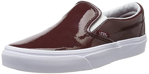 Vans Classic Slip-on, Unisex Adults' Low-Top Sneakers, Red, 7 UK (40.5 EU) Vans Classic Slip-on, Unisex Adults' Low-Top Sneakers, Red, 7 UK (40.5 EU) 41jJr3ZG8pL