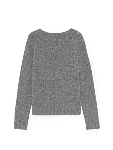 TWOTHIRDS Ladies Pullover - 100% Wolle - Agpat Grey