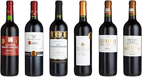 Wein Probierpaket Bordeaux Trocken (6 x 0.75 l)