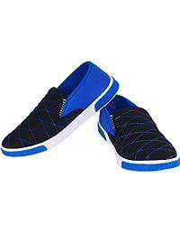 Friends Cart Black & Blue Cushioned Sneakers Sneakers