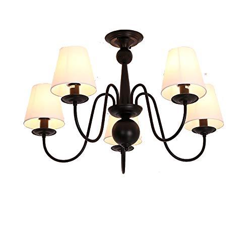 SCHNELL 3-5-6-Licht Anhänger Kronleuchter Moderne Metalltuch Beleuchtung Industriedeckenleuchte für Esszimmer Küche Wohnzimmer -