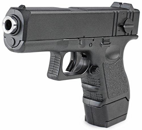 Nick and Ben Metall Sport Softair Pistole Modell 16 Schwarz (Paintball-pistolen Glock)