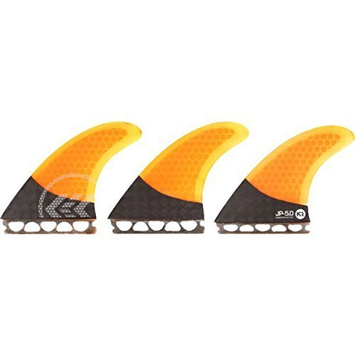 Surfing Fins Kr Joel Parkinson Carbo Tune Small Medium Fcs Orange Surf Fins