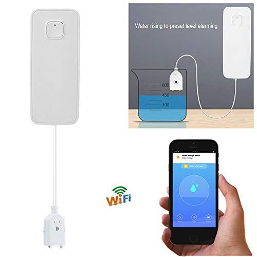 T Mobile Smart Wi-Fi Wassersensor, Überflutungs- und Leckdetektor - Alarm und App-Benachrichtigungen, Keine teuren Zusatzkomponenten erforderlich, einfaches Plug & Play (Hinweis: T-mobile)