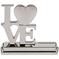 Anself 20pcs Amore Posto Inglese Lettere Carta Lega Titolari Tabella Mark Carte per Banchetti di Nozze Decorazione