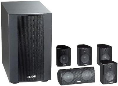 Canton Movie 125 MX Sistema di altoparlanti a 2 vie 5.1, colore: Nero prezzo scontato - Polaris Audio Hi Fi