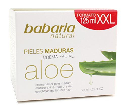Babaria Crema facciale Nutritiva Aloe Vera - 125 ml