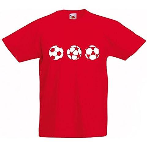 Kids Champions Premiership Balones de fútbol camiseta