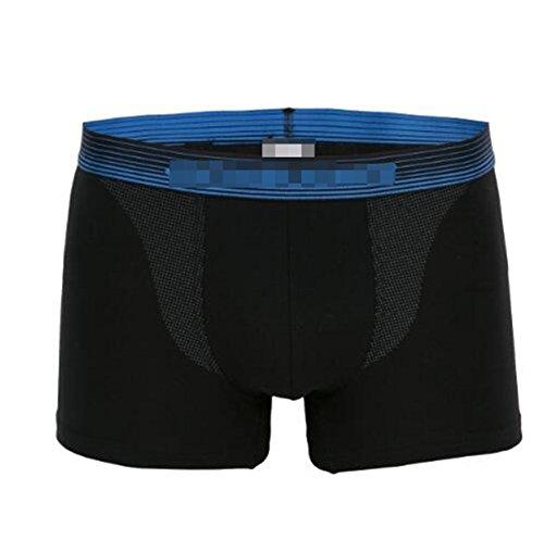 Uomini Estate Tinta Unita In Cotone Boxer Confortevole (3 Pack) 1