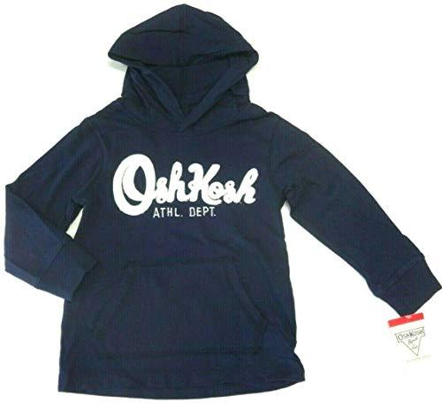 OshKosh B'Gosh Kapuzenpullover 104/110 dunkelblau Hoodie Shirt Junge USA Size 5 Boy Langarmshirt mit Kapuze Oshkosh Usa-sweatshirt
