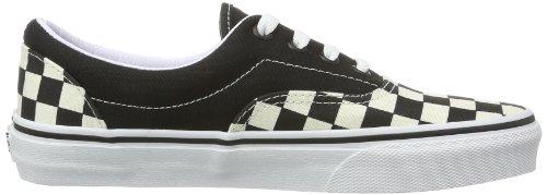 Vans - U Era (Checkerboard), Pantofole Unisex - Adulto Schwarz ((Checkerboard))