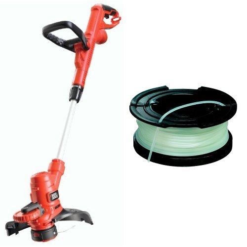 Black + Decker ST5530-GB 550W Corded Grass Strimmer with Spool + Line replacement