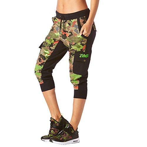 Zumba Fitness Z1B00610 Pantalon Femme, Bold Black, FR (Taille Fabricant : XL)