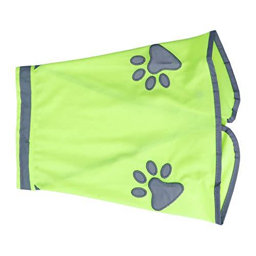 MM456 Chaleco de Seguridad para Perro, Reflectante, Abrigo Reflectante para Perro, Varios tamaños