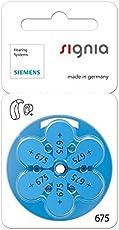 Generic Siemens Signia Hearing Aid Batteries Mf Pack Of 6 Batteries (675)