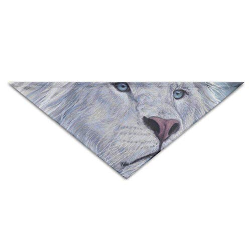Lion White Dog Kostüm - Rghkjlp White-Lion Pet Scarf Dog Bandana Pet Collars Triangle Neckerchief Puppy Bibs Scarfs