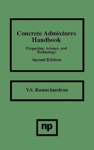Concrete Admixtures Handbook, 2nd Ed., Second Edition: Properties, Science and Technology (Building Materials Science Series) by V.S. Ramachandran (1997-01-14)