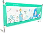 Luvlap Bed Rail Guard for Baby/Kids Safety (180 x 68 cm), Portable & Foldable Bed Rail (Gr